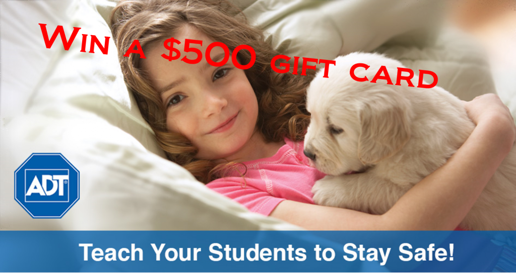 @TheMailbox & @ADTstaysafe $500 Giveaway (X 5/31/14)