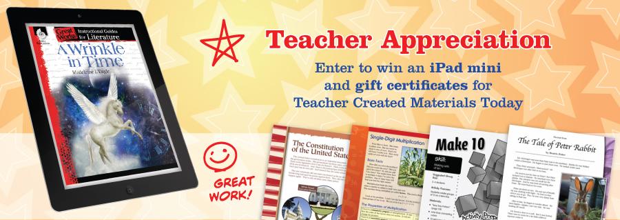 TeacherCreatedMaterialsTeacherAppreciation2014