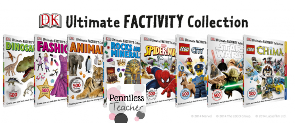 Factivity Collection #Giveaway @DKPublishing