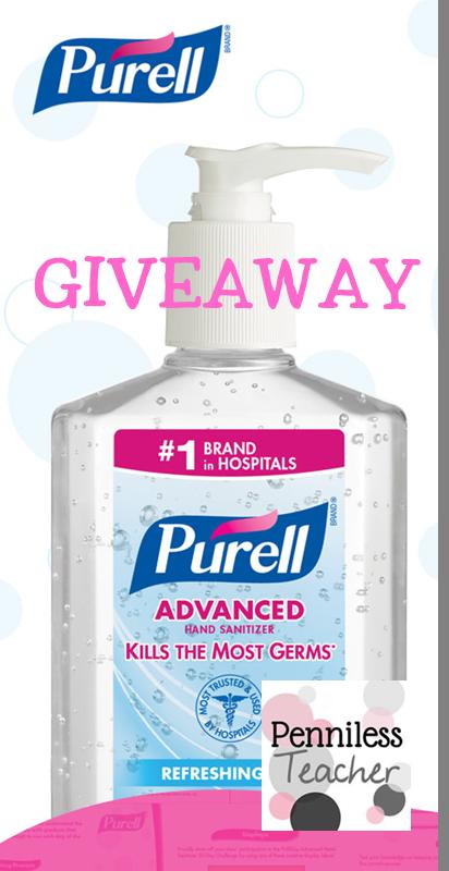 @Purell & @TheMailbox Classroom Challenge (X 12/31/14)
