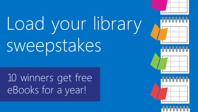 Library for a Year #Giveaway @MicrosoftPress