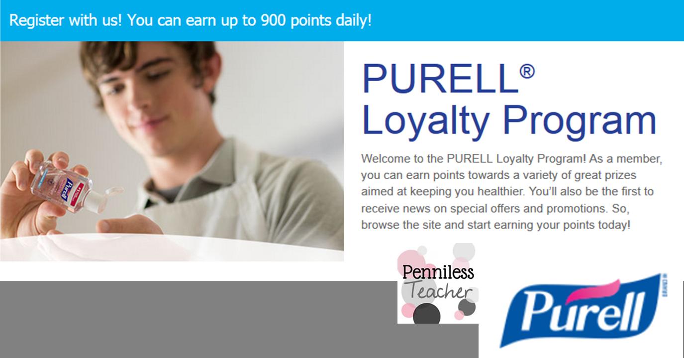 PurellLoyaltyProgram