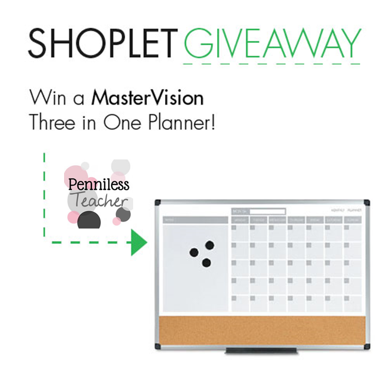 @Shoplet Planner #Giveaway (X 6/29/14)