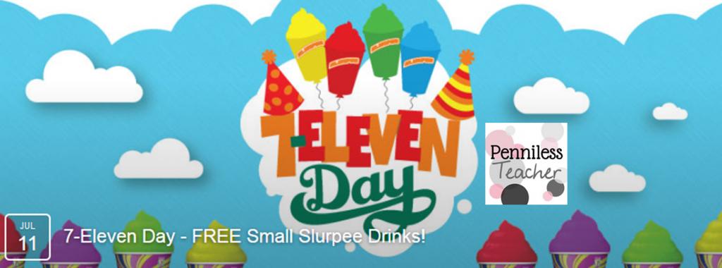 FREE Slurpee Day @7eleven