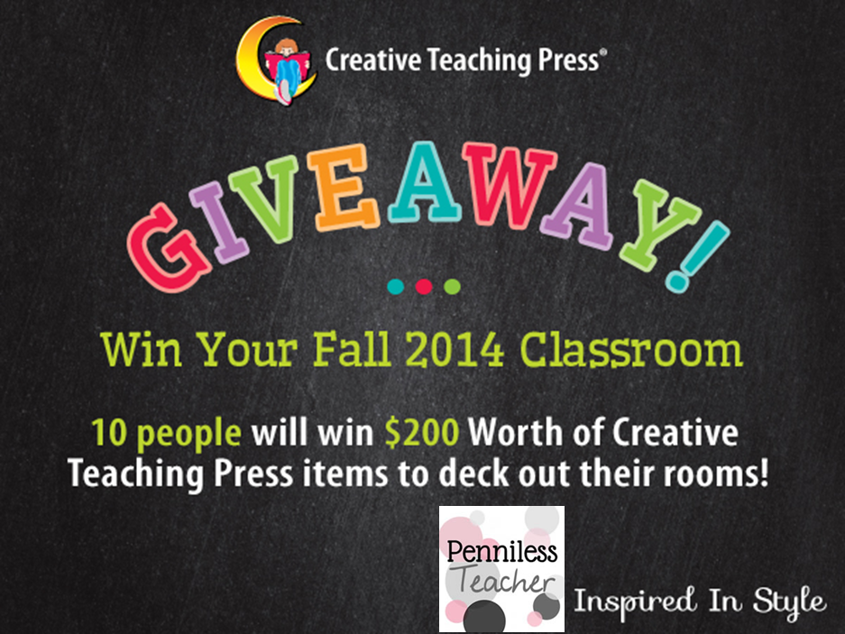 New Classroom Outfit Giveaway @CTP_Inc