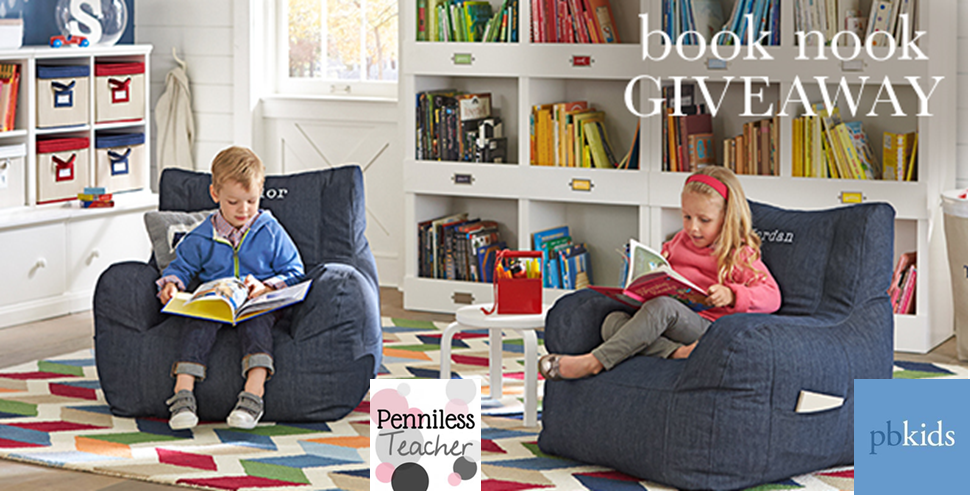 Book Nook #Giveaway @PotteryBarnKids