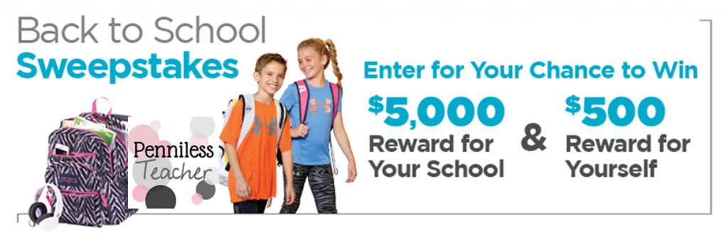 $5K Back to School Sweeps @SportsAuthority