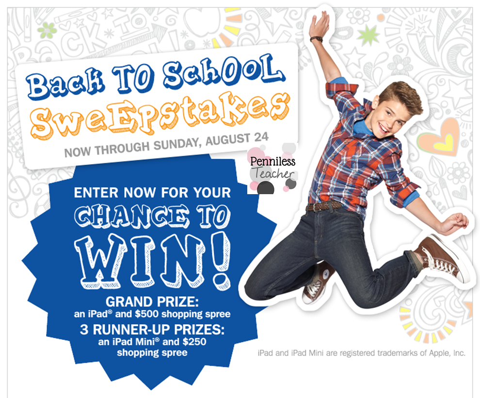"ANNIE'S ""BACK TO SCHOOL"" SWEEPSTAKES OFFICIAL RULES. NO PURCHASE NECESSARY TO ENTER OR WIN. A PURCHASE WILL NOT INCREASE YOUR CHANCES OF WINNING. Sponsors: Annie's Homegrown, Inc., 5 th Street, Berkeley, CA (the ""Sponsors"")."