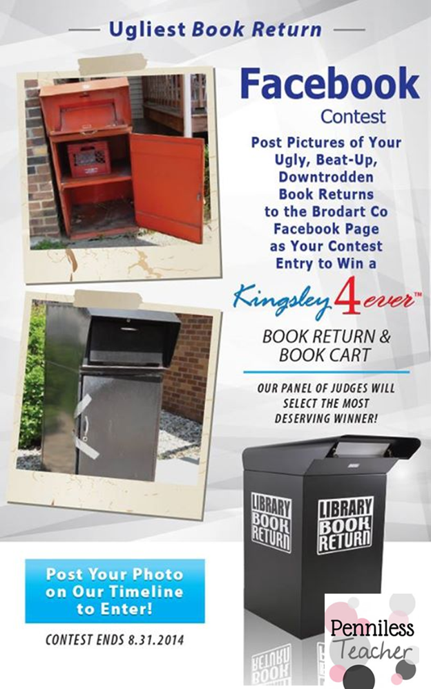 Brodart Ugliest Book Return #Contest