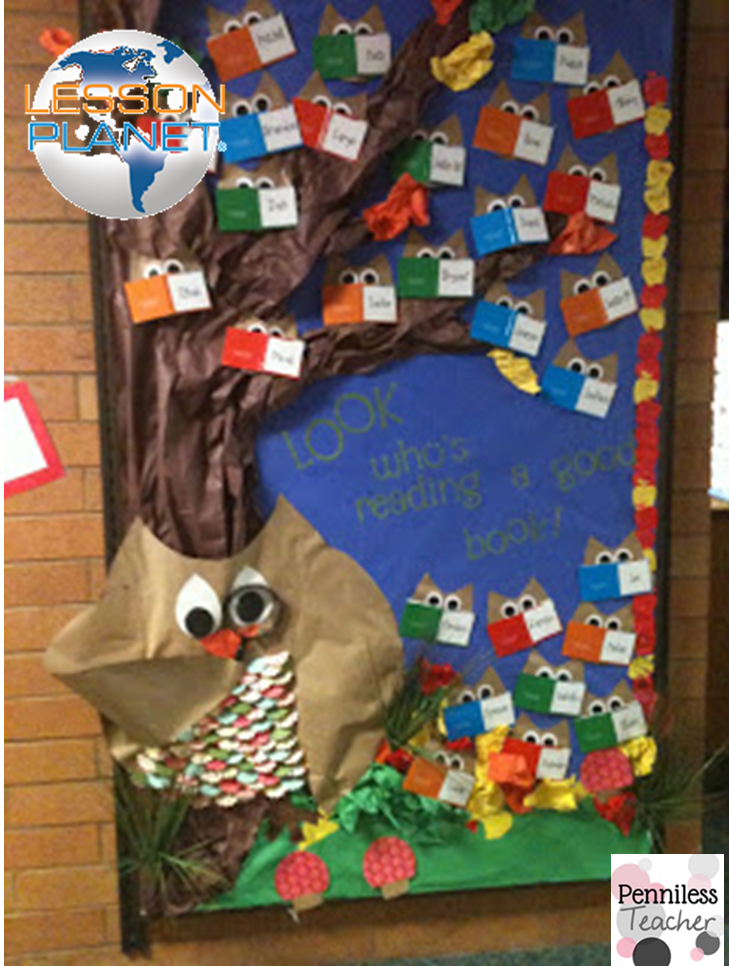 #BacktoSchool Bulletin Board Contest @LessonPlanet