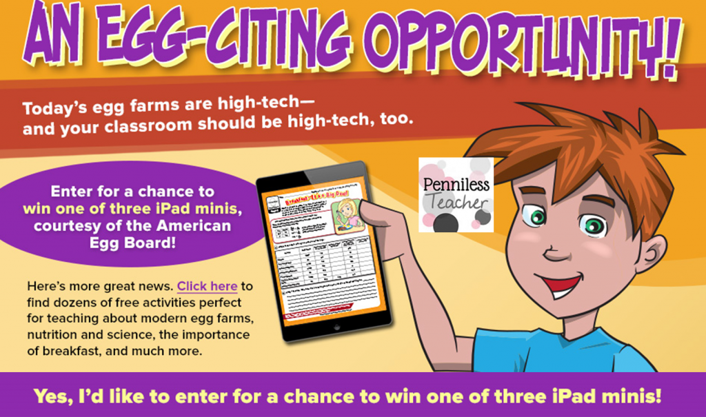 @IncredibleEggs & @TheMailbox  EGG-Citing #Giveaway (X 12/15/14)