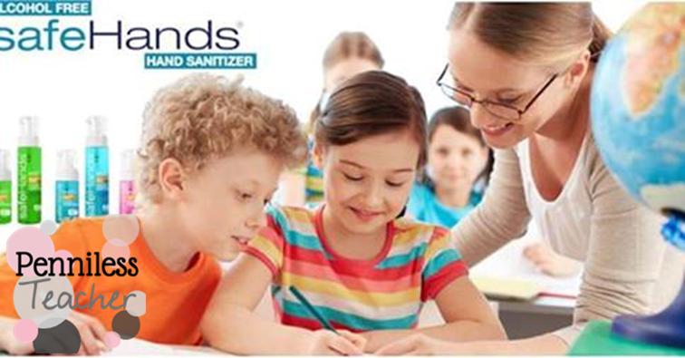 FREE Hand Sanitizer .@GetSafeHands (X 9/30/14)