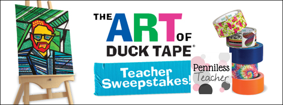 The ART of .@TheDuckBrand #Teacher #Sweepstakes (9/29/14)