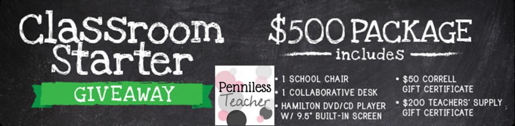 .@TeachersSupply #Classroom Starter #Giveaway