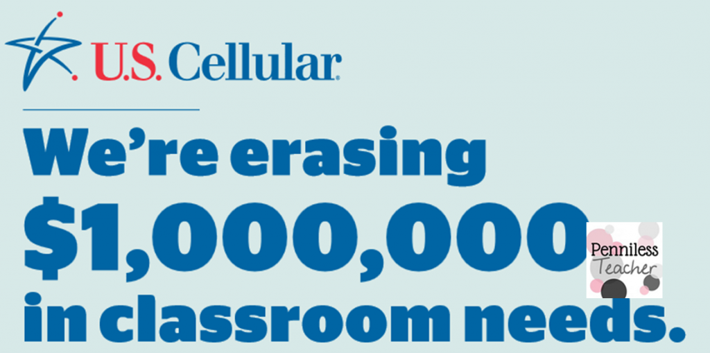 Calling All Teachers $1M US Cellular (X 9/21/14)