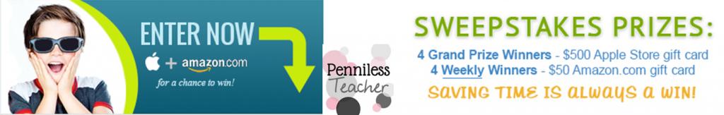 @VolunteerSpot #Teacher #Sweepstakes Week 4