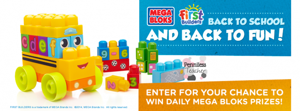 #BackToSchool #Giveaway .@MegaBloks Day 4