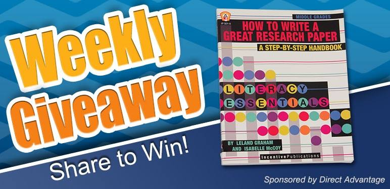 Weekly Teacher Giveaway .@NSchoolSupply (X 9/26/14)