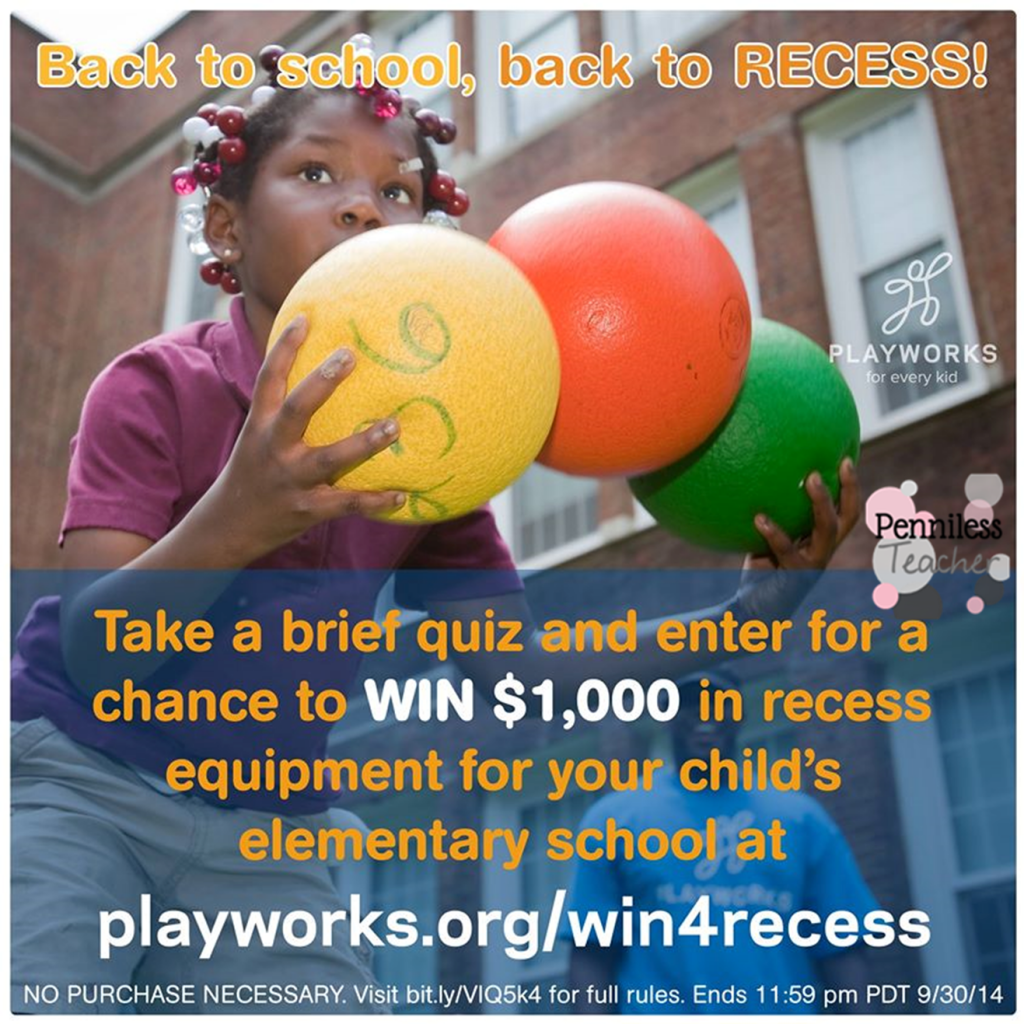 Win4Recess .@Playworks (X 9/30/14)