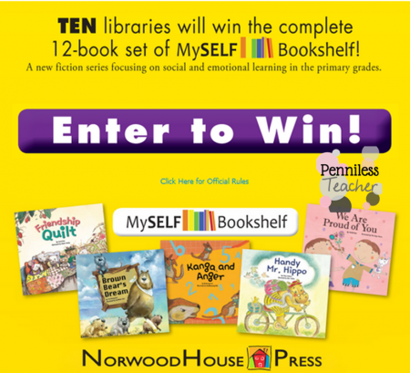 Library #Giveaway .@SLJournal & .@NorwoodHousePr (X 9/29/14)