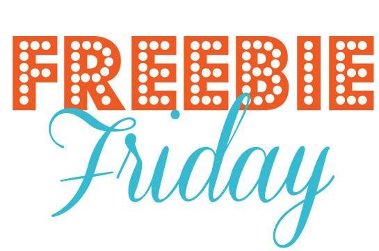 Freebie Friday 3/27/15