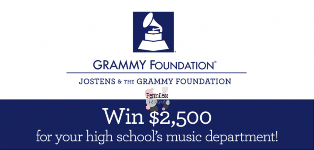 Rock Your School Song .@GRAMMYFdn & .@Jostens (X 12/31/14)