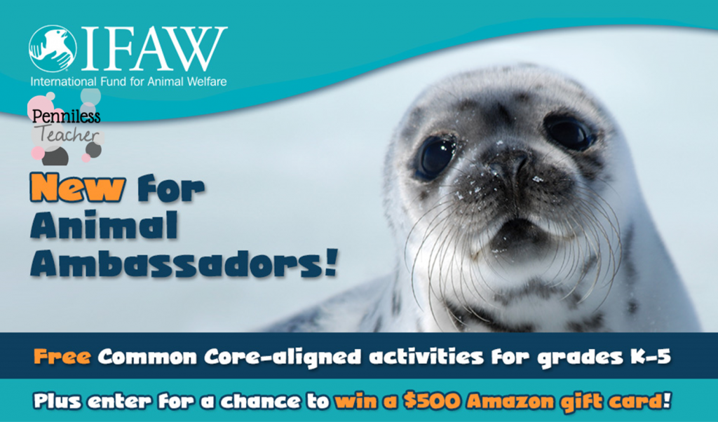 Animal Ambassadors #Teacher #Sweepstakes.@Action4IFAW