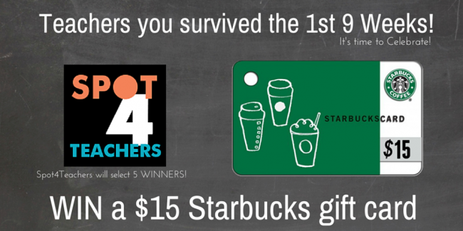 Teachers Survived Giveaway (10/31/14)