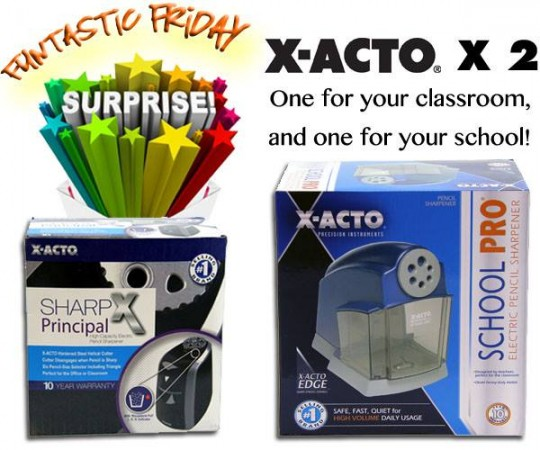 Win an X-ACTO Pencil Sharpener