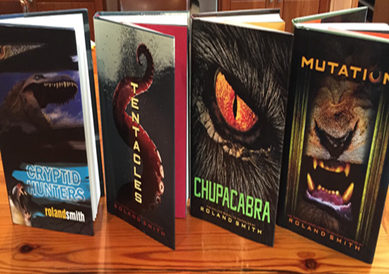 Cryptid Hunter Series #TeacherGiveaway