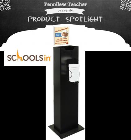 Hand Wipe Station Product Spotlight .@SCHOOLSin