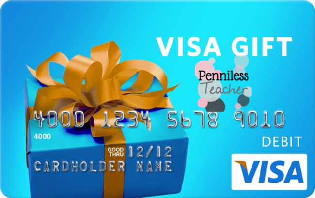 Visa Gift Card #TeacherGiveaway (X 11/30/14)