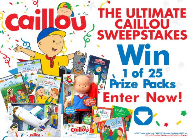 CaillouUltimateGiveaway12.1.14
