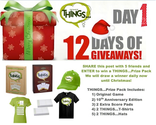 #12DaysofGiveaways .@ThingsTheGame