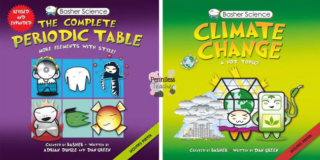 Kingfisher Children's Book Science Giveaway