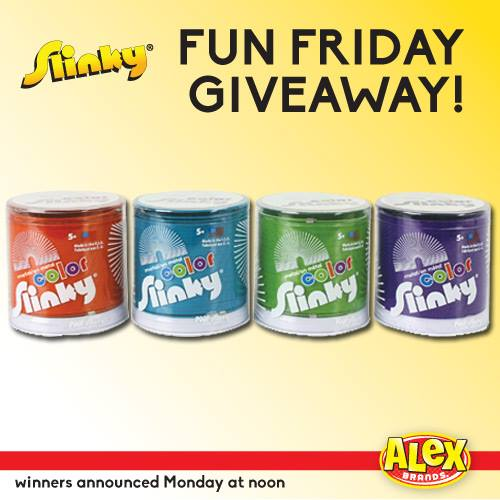 Just For Fun Twitter Giveaway By: Slinky Fun Friday #Giveaway