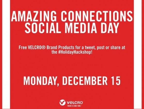 Free .@VelcroBrand #HolidayHackShop #AmazingConnections
