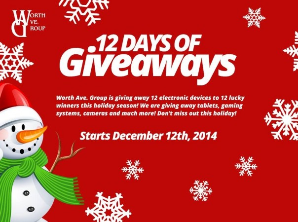 WorthAveGroup12DaysofGiveaways12.5.14