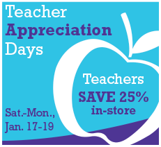 Teacher Appreciation Days .@JoAnn_Stores