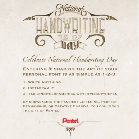 PentelNationalHandwritingContest1.22.15