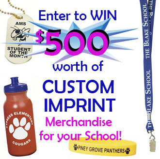 Custom Imprint Giveaway .@StudentSupply.com