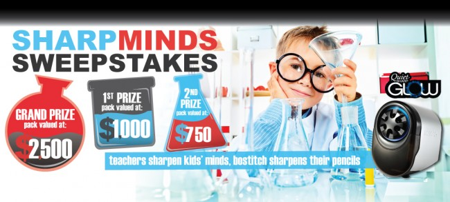 Sharp Minds .@BostitchOffice Sweepstakes
