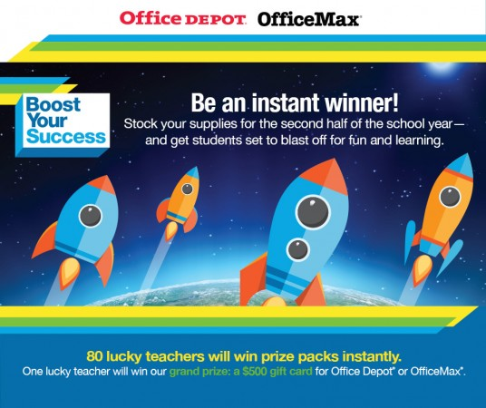 Win $50 Teacher Prize Package Instantly
