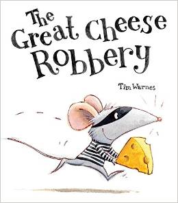 The Great Cheese Robbery Giveaway .@LittleTigerUK