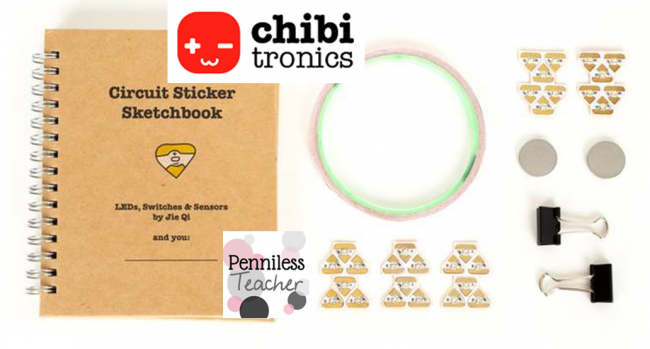ChibitronicsCircuitStickers9thplace2015