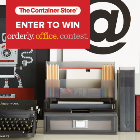 orderly.office.contest .@ContainerStore