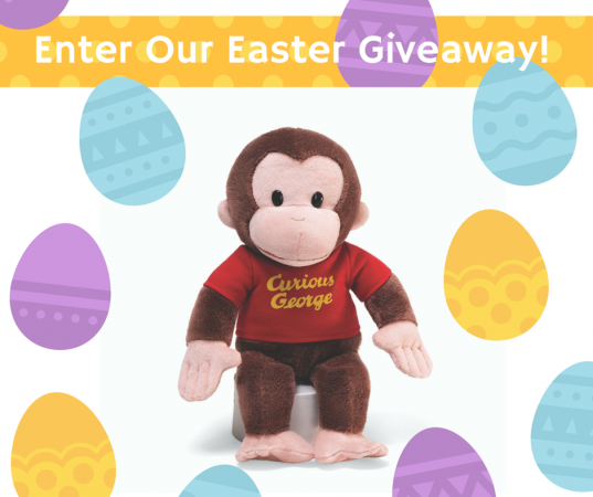 Curious George Easter Giveaway