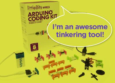 LittleBits Giveaway at Edutopia