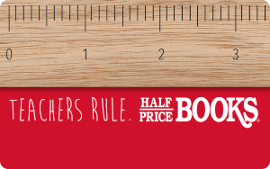 Half Price Books $50 Gift Card Giveaway