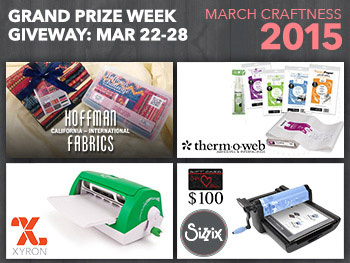 #MarchCraftiness #TeacherGiveaway Week 4